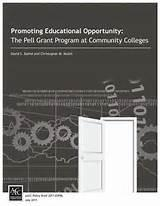 Pell Grants At Community Colleges images