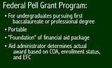 photos of Pell Grant Given Cash