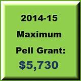 Pell Grant Up
