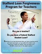 Stafford Loans Teacher Loan Forgiveness Program
